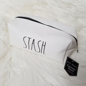 ⬇️ Rae Dunn Cosmetic Makeup Pouch STASH